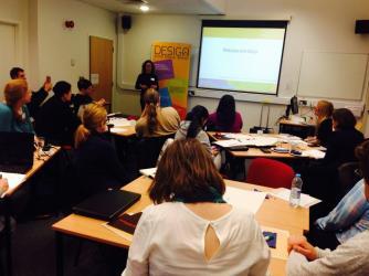 Design and Digital World workshop at University of Nottingham